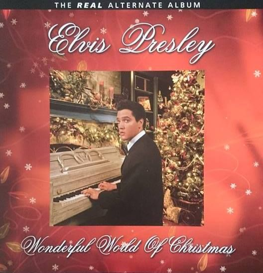 two elvis presley items 1box set elvis presley wonderful world of christmas 3 lps on blue vinyl 2 cds mint never seen a turn or disc player - Blue Christmas By Elvis Presley