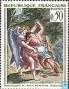 Postage Stamps - France [FRA] - Jacob wrestling with the Angel