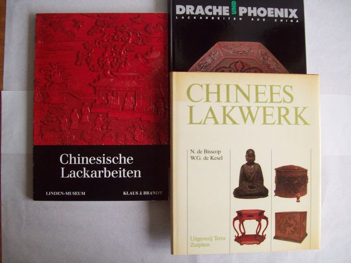 Buch (3) - Hardcover / Softcover - China - Mehrere Perioden