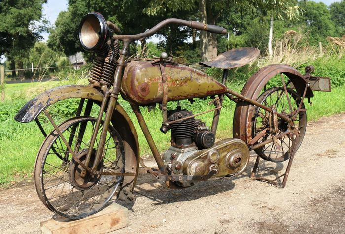 Harley-Davidson Model B 350 cc - 1928 in original paint - Catawiki