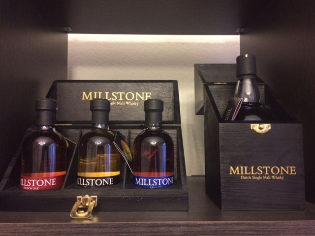 Millstone, sherry cask 12 years old + collection of three miniatures of 20cl