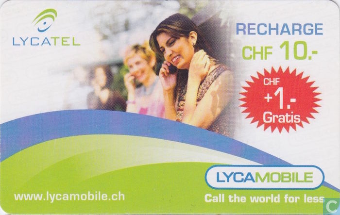 Lyca mobile recharge - Lyca mobile - Catawiki
