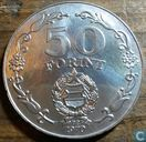 "Hungary 50 forint 1970 ""25 years of freedom"""
