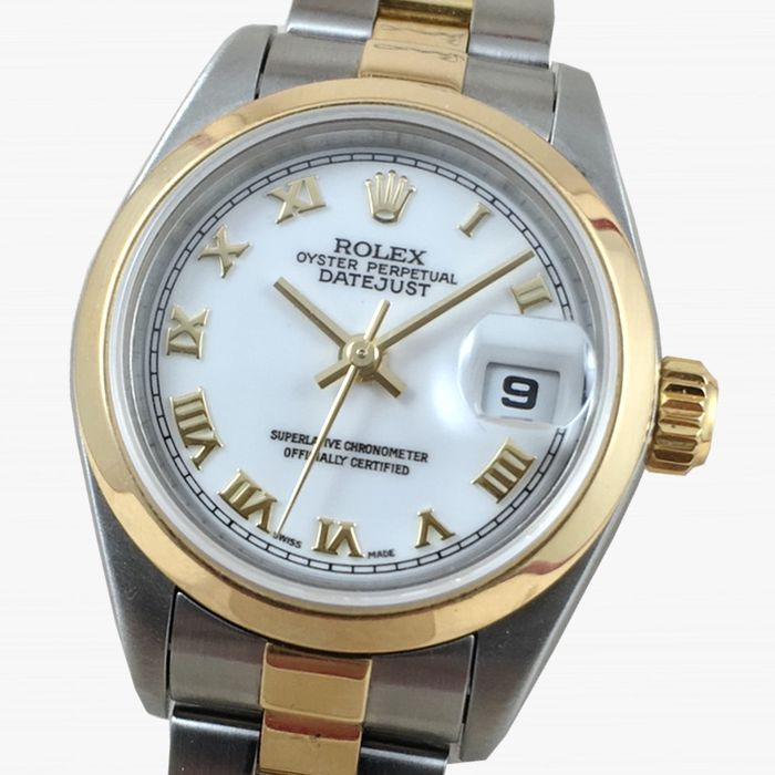 rolex oyster perpetual datejust 79163 damenuhr 2003 catawiki. Black Bedroom Furniture Sets. Home Design Ideas