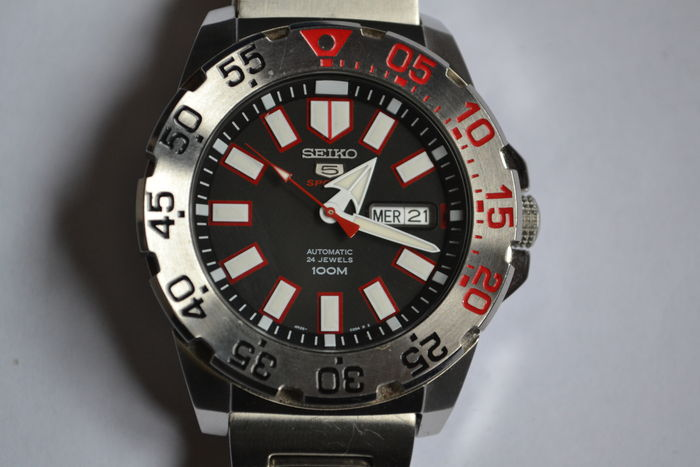 Seiko monster 10th anniversary the sun men watch (2,323 limited.