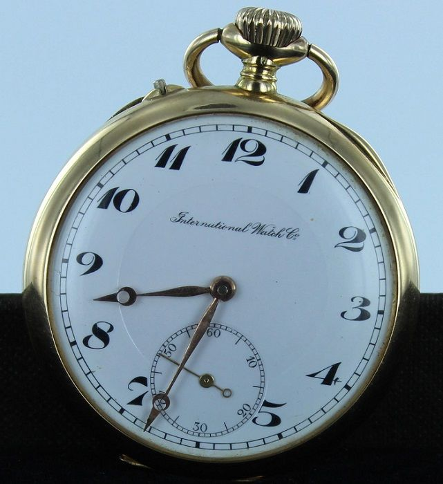 International Watch Co - Zakhorloge - ca 1900