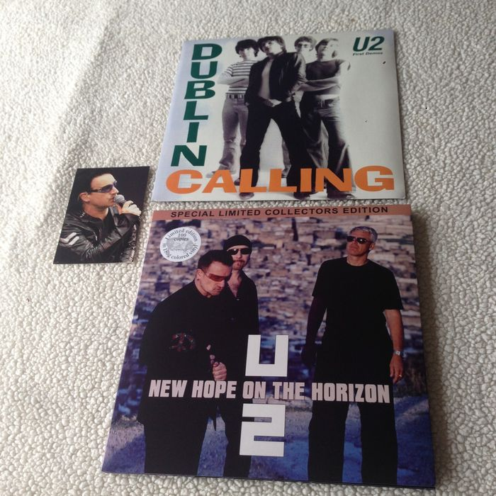 U2 - Lot of 2 Lp's in Special Limited Collectors Edition in NM (M-) Condition