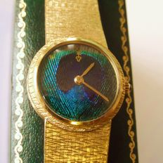 Corum ladies Swiss wristwatch. a very special and rare edition . circa 1970s