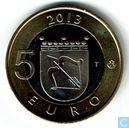 "Finland 5 euro 2013 ""St. Olaf Castle"""
