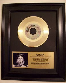 Queen - Bohemian Rhapsody 24k Gold plated record