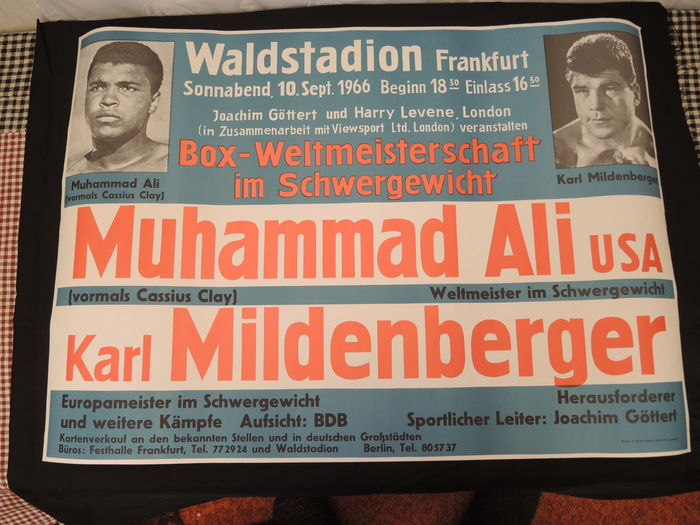 Anonymous - Muhammad Ali United States vs Karl Mildenberger boxing world championship, heavyweight 1966 -.
