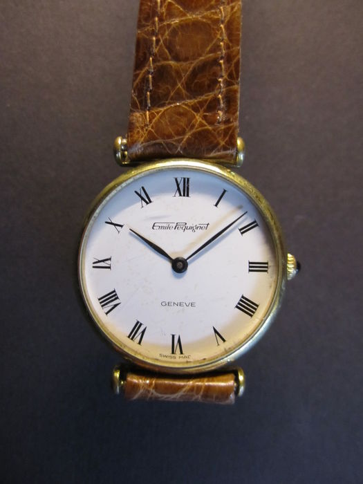 Emile pequignet flat luxus ladies watch france 70s catawiki for Watches of france