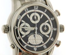 Maurice Lacroix Globe chronograph – wristwatch – (our internal #6835)