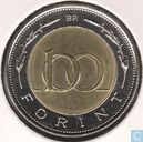 Coins - Hungary - Hungary 100 forint 1998