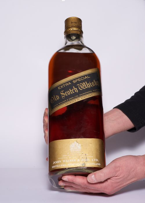 Black Label Price >> Johnnie Walker Black Label 4 5 Liter 1960 S Catawiki