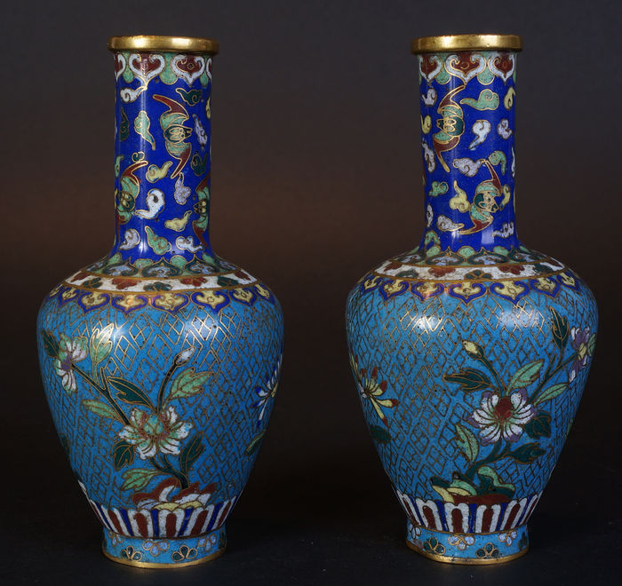 vase cloisonn chinois ancien gz74 montrealeast. Black Bedroom Furniture Sets. Home Design Ideas