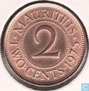 Maurice 2 cents 1975