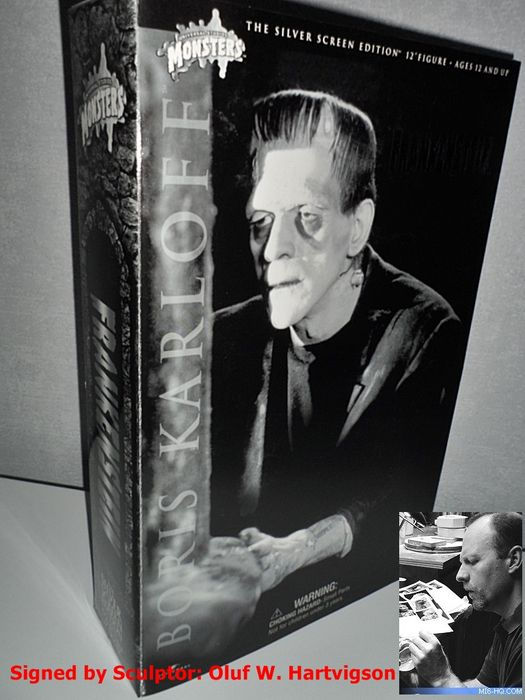 Sideshow Boris Karloff Frankensteins Monster 30cm Figur Universal Monsters Filme & Dvds