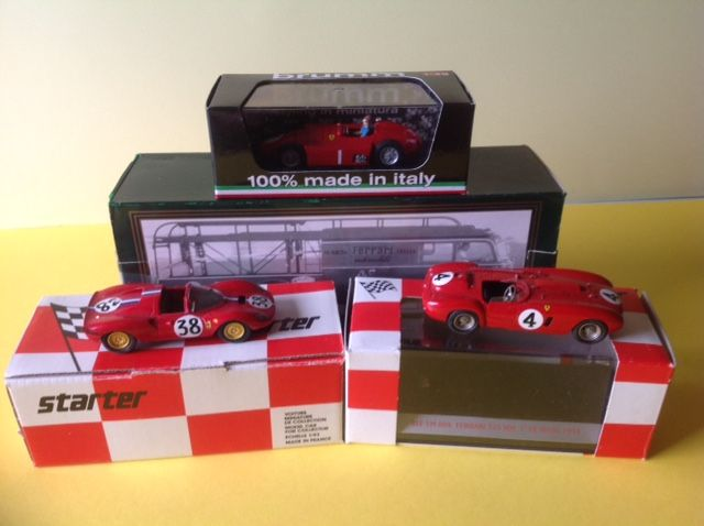 Old Cars Starter Brumm 1 43 Fiat 642 Transport Ferrari Catawiki