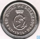 Luxembourg 5 centimes 1924