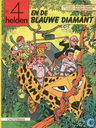 Bandes dessinées - 4As, Les - De 4 helden en de blauwe diamant