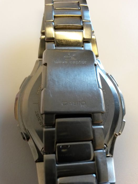 casio wave ceptor tough solar instructions