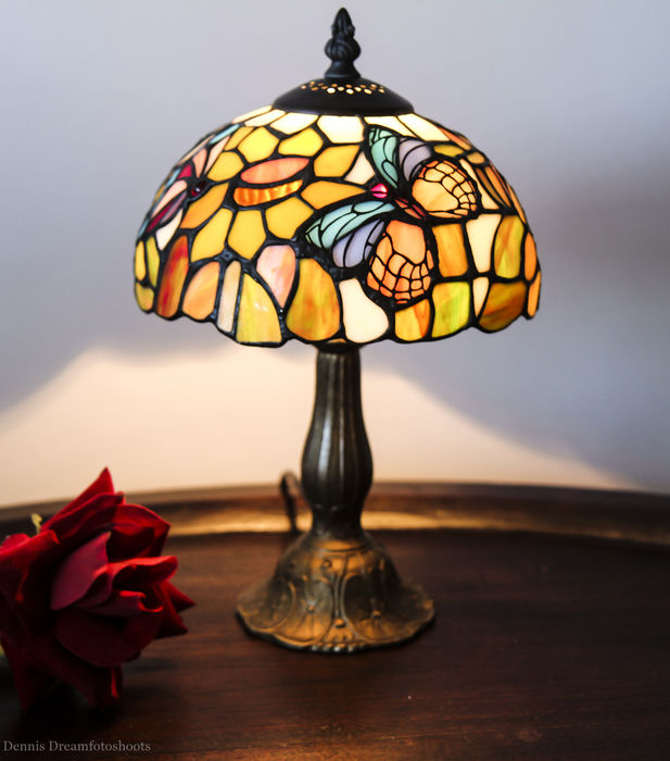 Tiffany Style Butterfly Table Lamp Catawiki
