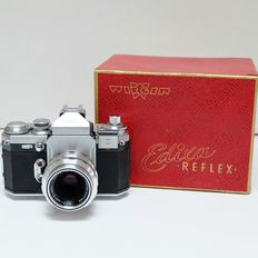 WIRGIN Edixa Refex single-lens reflex camera, circa 1959, model C
