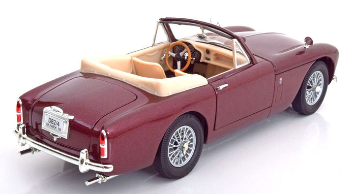 whitebox scale 1 18 aston martin db2 4 mk 3 cabrio red catawiki. Black Bedroom Furniture Sets. Home Design Ideas