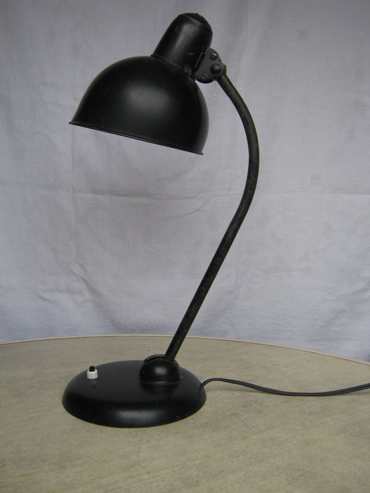 christian dell for kaiser idell bauhaus original desk lamp 39 model 6556 39 catawiki. Black Bedroom Furniture Sets. Home Design Ideas