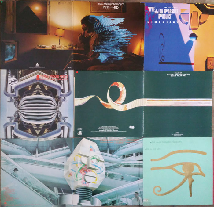 Alan Parsons Project  Pyramid  Limelight  Eye in the Sky  Tales of Mystery 607e69901c87