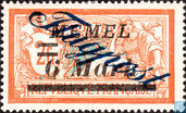 Type Merson, with double overprint