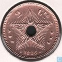 Congo free State 2 centimes 1888
