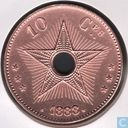 Congo free State 10 centimes 1888