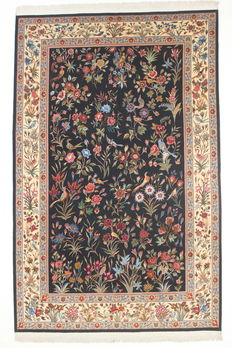 Exceptionally lovely TABRIZ carpet, Gol-o Bolbol, Iran, 20th century, 310 x 205 cm.