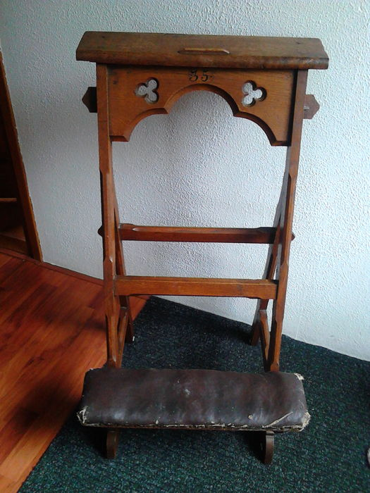 Antique Dutch prayer chair - beginning of 20th century - Antique Dutch Prayer Chair - Beginning Of 20th Century - Catawiki