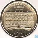 "Italië 200 lire 1990 ""100th Anniversary of State Council"""