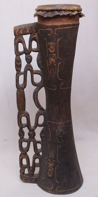 Old drum - Asmat - West Papua
