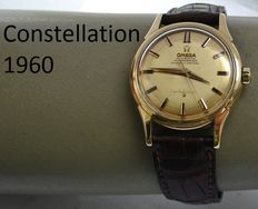 O M E G A -- Constellation -- Gold men's watch -- 1960