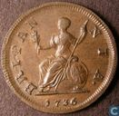 United Kingdom 1 farthing 1736