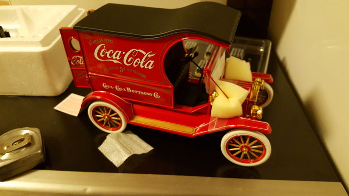 Franklin Mint - Schaal 1/16 - Ford model T Coca-Cola delivery truck