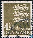 Timbres-poste - Danemark - Armoiries nationales