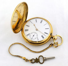 William Willoughby – Gentlemen's pocket watch – Ancre – Chester, 1873.