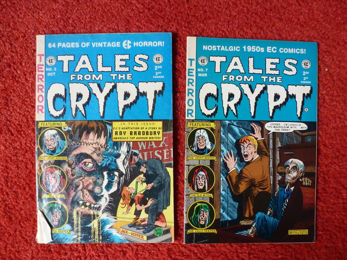 Creepy - 1 to 7 + Macabre no  1,3,4,7,8 + Tales From The Crypt no  2 + 7 +  Stephen King's Creephow - 15 × sc (1972/1994), - Catawiki