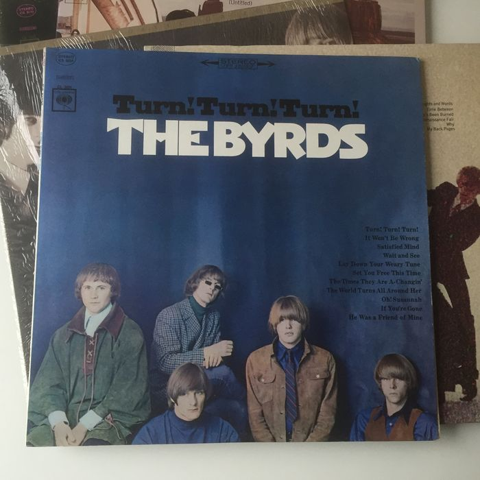 The Byrds Lot Of 5 Classics Usa Pressing Lps Incl