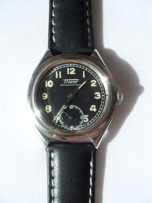 bad6e32f0be Tissot anti-magnétique 15 rubis - 1948 - Montre homme - Catawiki