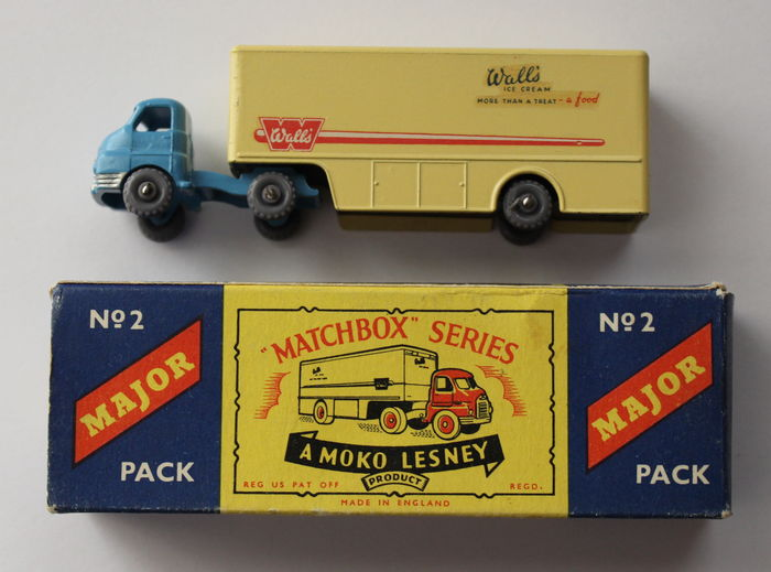 Lesney Matchbox Major Pack   Unknown Scale   Bedford Walls Ice Cream Truck  M 2