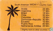 South America WOW !! Country Card
