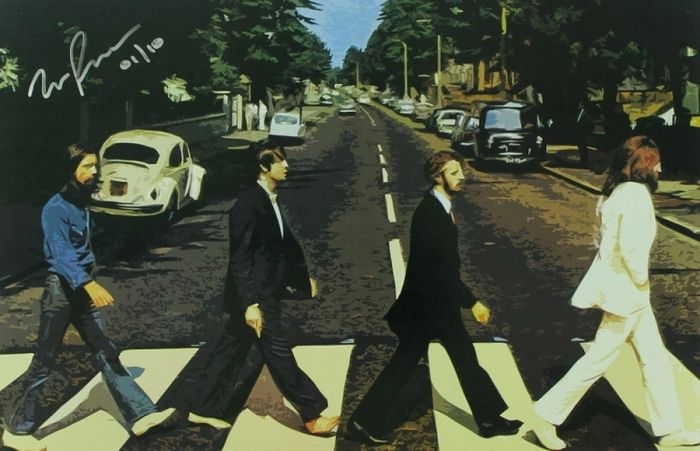 The Beatles - Abbey Road, limited edition litho (9 of 10)