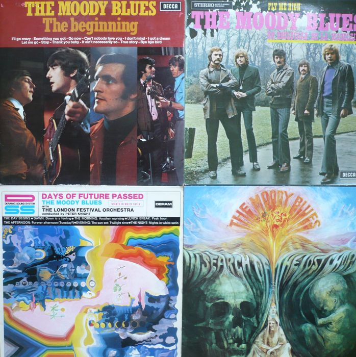 The Moody Blues - Lot of 12 albums (incl  one double) (Decca